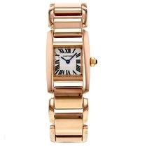 Cartier Tankankissime W650048h 18k Rose Gold Women's Watch