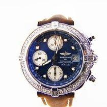 Breitling Windrider Factory Diamond Bezel Ref #: A13357