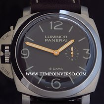 Panerai Luminor 1950 Left-Handed 8 days Titanio Ltd full set...