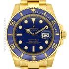 Rolex 18k yellow gold Submariner