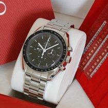 Omega Speedmaster Moonwatch Coaxial Chronograph enamel dial...