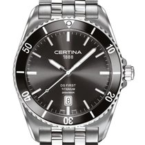 Certina DS First Ceramic Titan/ 3-Zeiger