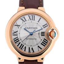 Cartier Ballon Bleu 33 Automatic Leather