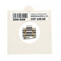 Omega 16mm Matte Steel&gold Double Link For Speedmaster