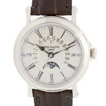 Patek Philippe New  Complications Platinum White Automatic...