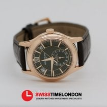 Patek Philippe Complications Annual Calendar Rose Gold Black Dial