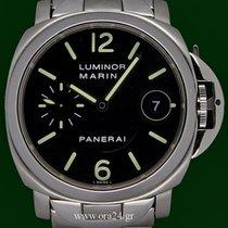 Panerai Luminor Marina Pam048 Automatic 40mm Steel Bracelet...