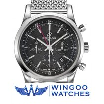 Breitling TRANSOCEAN CHRONOGRAPH GMT Ref. AB045112/BC67/154A
