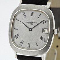 Eterna -MATIC 3003 solid 18K White Gold Ref. 810 Men's...