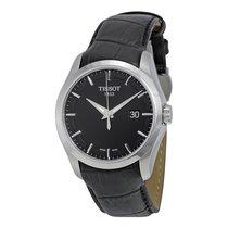 Rolex Tissot Couturier Black Dial Mens Watch T0354101605100