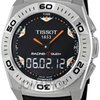 Tissot Racing T-Touch Black Rubber Mens Watch T00252017...