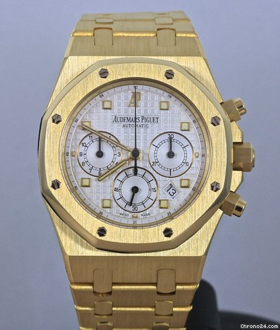 Audemars Piguet Royal Oak Chronograph 18K yellow gold