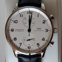 IWC Portoghese Chronograph ref. 371446 full set new
