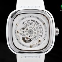 Sevenfriday P1/02 White Rubber 47mm