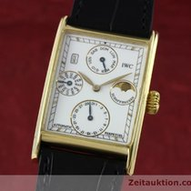 IWC 18k Gold Novecento Ewiger Kalender Automatik Herrenuhr 3545