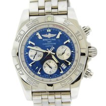 Breitling Chronomat 44 B01 Blue Dial Stainless Steel