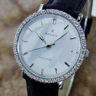 Rolex Swiss Made Mens 1950s Rare Vintage Diamond Stainless...