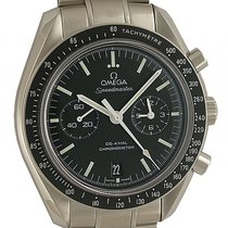 Omega Speedmaster Moonwatch Stahl Automatik Co-Axial Chronogra...