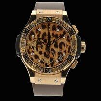 Hublot Big Bang  Gold Leopard limitée 250 pièces