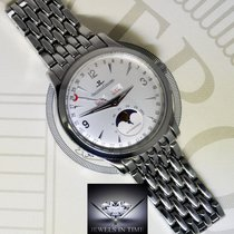 Jaeger-LeCoultre Triple Calendar Moon Steel Mens Watch...
