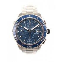 TAG Heuer Aquaracer Chronograph Calibre 16 Blue Dial