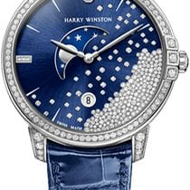 Harry Winston Midnight Diamond Drops 39mm MIDQMP39WW004