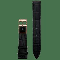 Frederique Constant E-Strap Black Rose Gold Plated 20mm