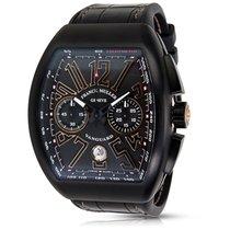Franck Muller Vanguard V45 CC DT Carbon Mens Watch in PVD
