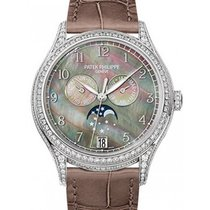 Patek Philippe 5205G 001 Annual Calendar Moon Phase in White for $40 367 for sale from a