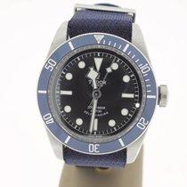 Tudor Heritage Black Bay BlueDial (FULLSET2015) LikeNew 41mm MINT