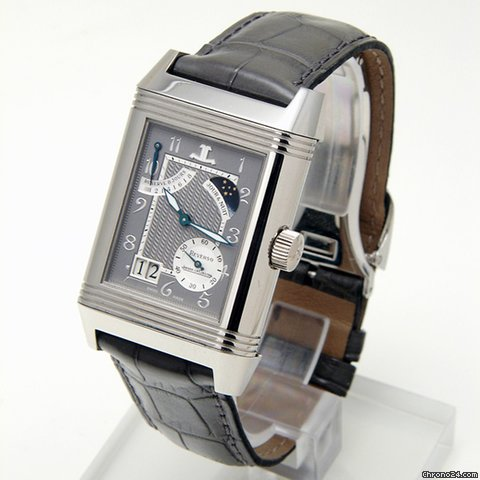 Jaeger-LeCoultre Reverso Septantime, en platine