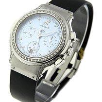 Hublot Elegant Chronograph in Steel with Diamond Case & Bezel
