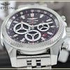Breitling Bentley Barnato Racing Chrono Automatic Steel Mens...