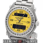 Breitling Emergency Titanium Yellow Dial 43mm Ref. E56121.1