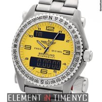 Breitling Emergency Titanium Yellow Dial 43mm