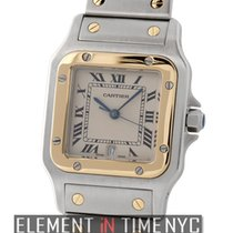 Cartier Santos Collection Santos Galbee Steel & 18k Yellow...