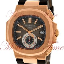 Patek Philippe Nautilus Chronograph, Black/Brown Dial - Rose...