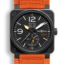 Bell & Ross Aviation BR03 GMT Carbon