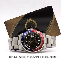 Rolex GMT MASTER II 16710 Card 3186 Rectangular Never Polish