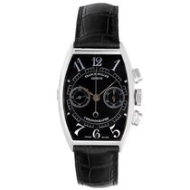 Franck Muller Chronograph 18k White Gold Men's Watch 5850 CC