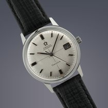 Omega Seamaster Geneve stainless steel automatic watch 50th...