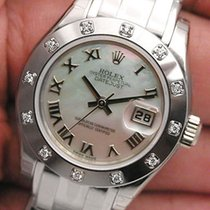 Rolex Masterpiece Mother Of Pearl Roman Dial 80319