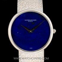Vacheron Constantin 18k White Gold Lapiz Lazuli Dial Gents...