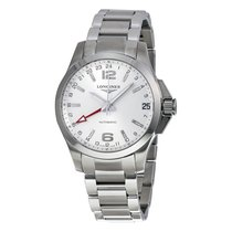 Longines Conquest Automatic Silver Dial Mens Watch L3.687.4.76.6