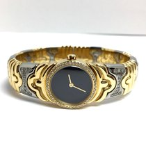 Bulgari 2 Tone 18k Yellow Gold & Steel Ladies Bracelet...