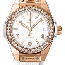 Hublot Big Bang One Click 39mm King Gold White Diamonds