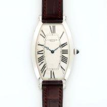 Cartier Platinum Tonneau Mechanique Watch Ref. 2435