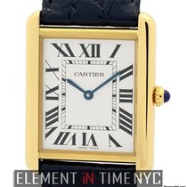 Cartier Tank Collection Tank Solo Large 27mm 18k Yellow Gold