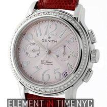 Zenith Chronomaster  Star El Primero Diamonds Ladies Steel...