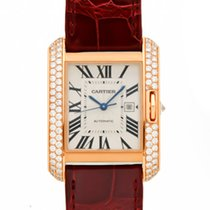 Cartier- Tank Anglaise Großes Modell, Ref. WT100016